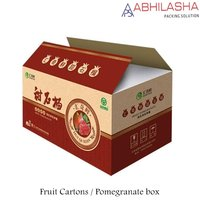 pomegranate packing box