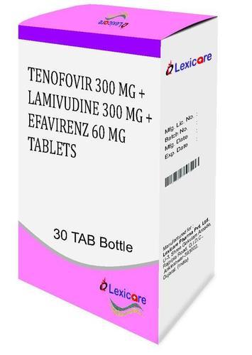 Tenofovir and Lamivudine and Efavirenz Tablets