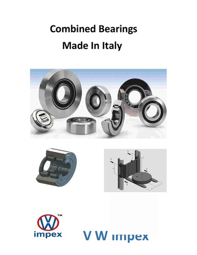 Combined Bearings Made in Italy