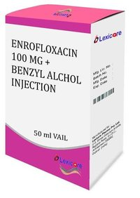 Enrofloxacin and Benzyl Alcohol Injection