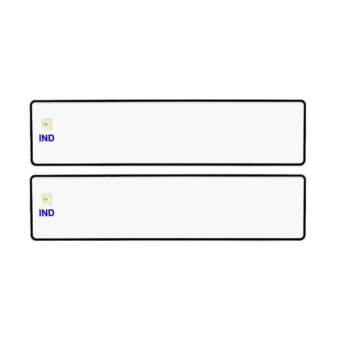 IND CAR MINI Number Plates