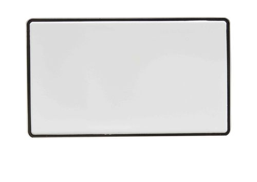 BLANK CAR SQUARE  Number Plates