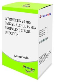 Ivermectin and Bezyl Alcohol and Propylene Glycol Injection