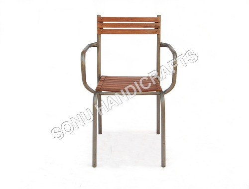 IRON WOODEN CHAIR