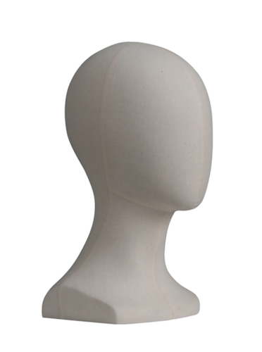 FIBER MALE HEAD MANNEQUIN