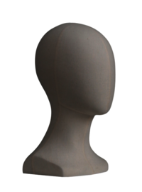 FIBER MALE HEAD MANNEQUIN