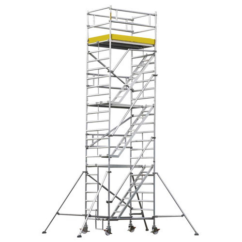 Mobile Scaffold Tower With Chassis Beam