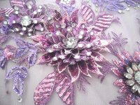3D Embroidery Fabrics
