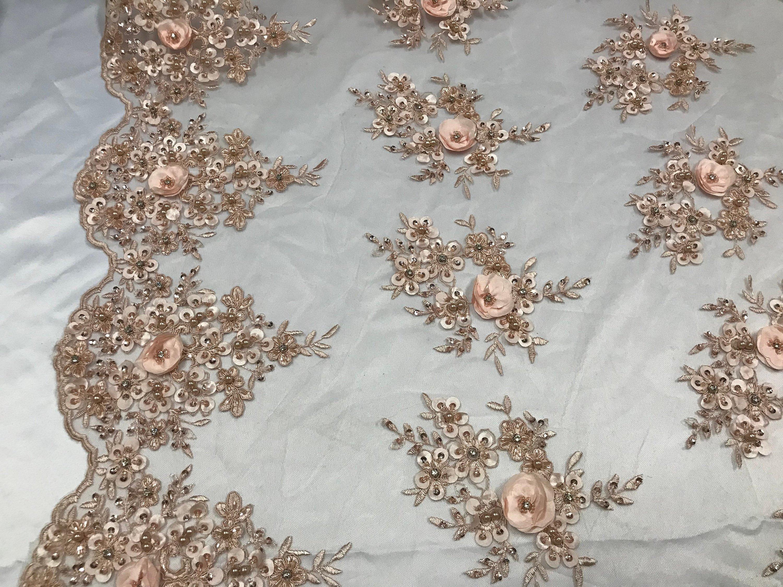3D Embroidery Fabrics