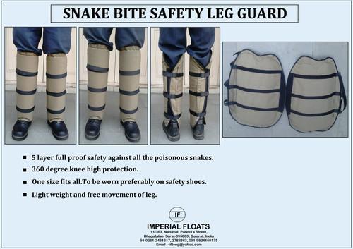 Snake Bite Safety Leg Guard