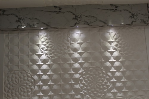 3D WPC Wall Panels