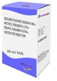 Dexamethasone Sodium and Methyl Paraben and Propyl Paraben Injection