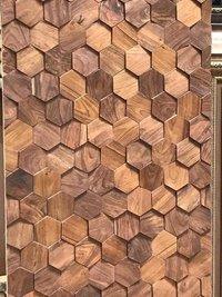 Wooden Mosaics Tiles