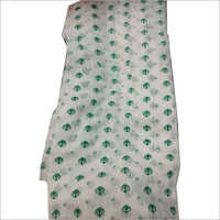 Ladies White Khanda Print Dupatta