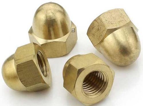 Brass Dome Nut