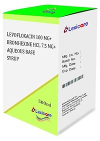 Levofoxacin and Bromhexine HCL and Aqueous Base Syrup