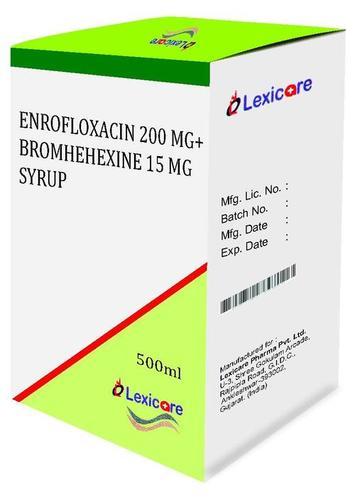 Enrofloxacin andBromhexine Syurp