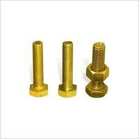Golden Plated Hex Bolt