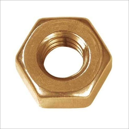 Gold Plated Hex Nut