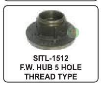 https://cpimg.tistatic.com/04988618/b/4/FW-Hub-5-Hole-Thread-Type.jpg
