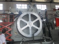 HDPE and Steel Reinforced Winding Pipe Machine