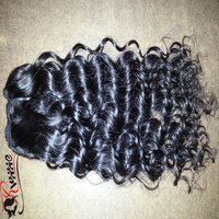 Curly Weft Human Hair Extensions
