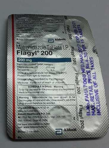 metronidazole tablets