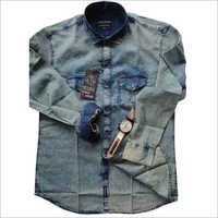 Mens Denim Full Sleeve Shirts