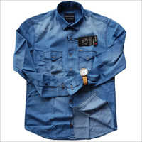 Mens Denim Fashion Full Sleeve Shirts
