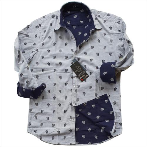 Mens Printed Casual Shirts