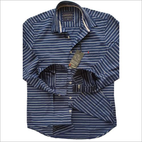 Mens Stripe Casual Shirts