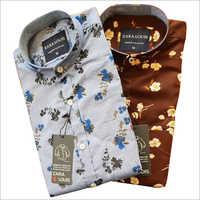 Mens Cotton Printed Shirts