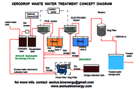 Molasses Distillery Spent Wash Treatment Plant