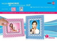 POWER PLUS FROZEN MEMORIES – 3D PHOTO FRAME (3 X 4)