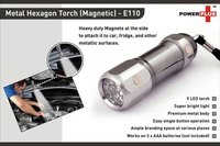 HEXA METAL TORCH (MAGNETIC) (9 LED)