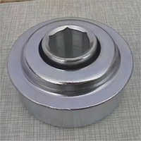 Hex bore conveyor flanged non-precision roller bearing