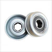Hex bore conveyor roller bearing