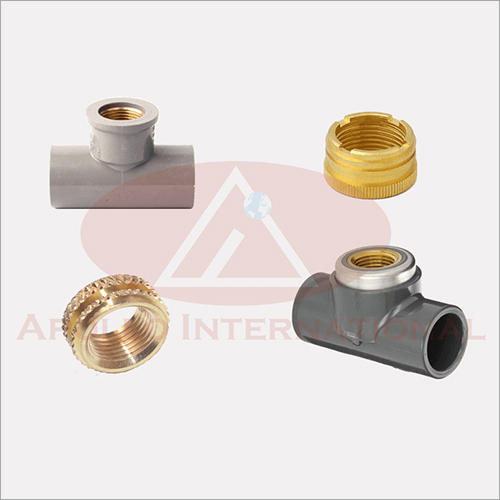 Brass Inserts PVC Fittings