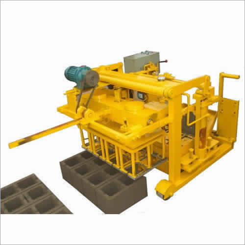 Interlocking Concrete Block Making Machine