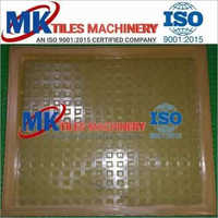 Chequered Tiles  PVC rubber mould