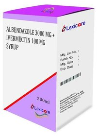 Albendazole and Ivermectin Syurp