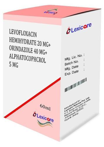 Levofloxacin Hemihydrate Syrup
