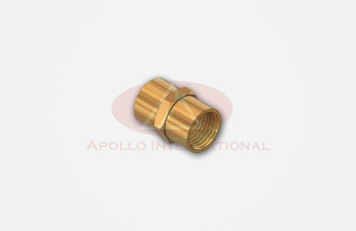 Brass Hex Female Coupling
