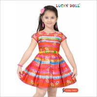 Printed Baby Frock