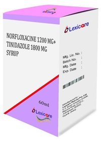 Norfloxacin and Tinidazole Syrup