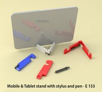 MOBILE & TABLET STAND WITH STYLUS AND PEN