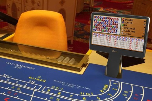 Casino Double Sided Monitor