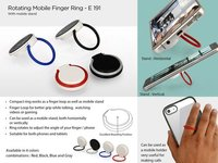 ROTATING MOBILE FINGER RING (WITH MOBILE STAND)