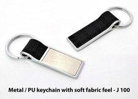 Metal Pu Keychain