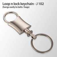 Loop N Lock Keychain